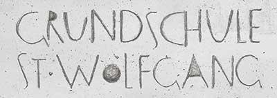 Grundschule St. Wolfgang Logo